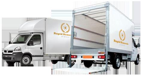 Rapid Removals Vans